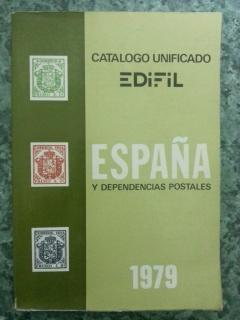 CATALOGO UNIFICADO DE ESPAÑA Y DEPENDENCIAS POSTALES 1979