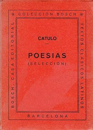POESIAS ( SELECCION ): Catulo