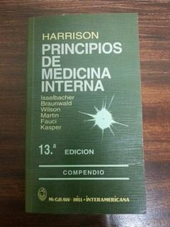 PRINCIPIOS DE MEDICINA INTERNA - COMPENDIO HARRISON: Isselbacher - Braunwald