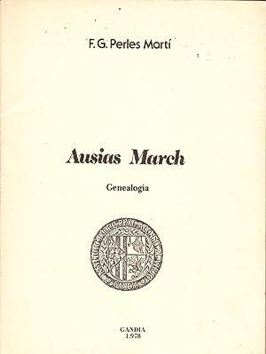 AUSIAS MARCH - Genealogia: F. G. Perles Marti