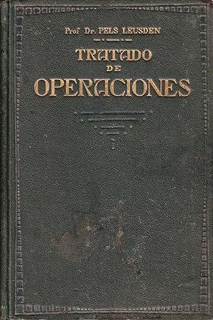 TRATADO DE OPERACIONES: Federico Pels Leusden