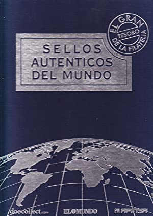 SELLOS AUTENTICOS DEL MUNDO - ALBUM FILATELICO