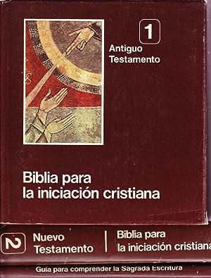 BIBLIA PARA LA INICIACION CRISTIANA - 3 TOMOS