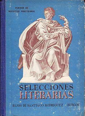 SELECCIONES LITERARIAS: VV.AA.