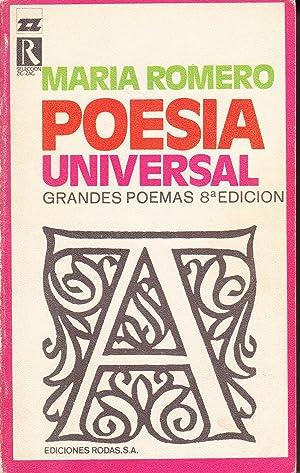 POESIA UNIVERSAL - GRANDES POEMAS: Maria Romero