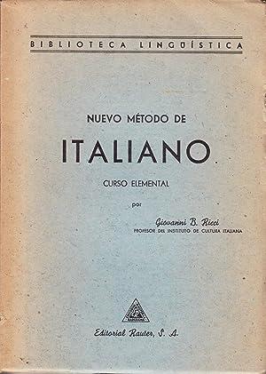 NUEVO METODO DE ITALIANO - CURSO ELEMENTAL: Giovanni B. Ricci
