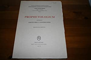 Prophetologium: Carsten Hoeg and