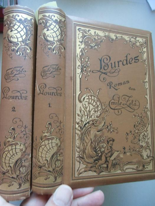 3 Bd. in 2 Bücher Lourdes Roman: Emile Zola: