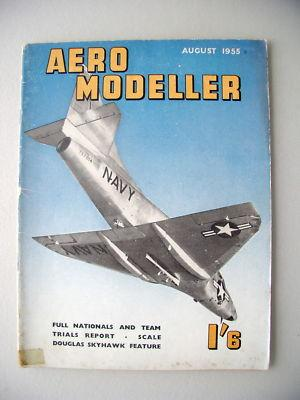 Aero Modeller I'6 August 1955 Modellbau model making