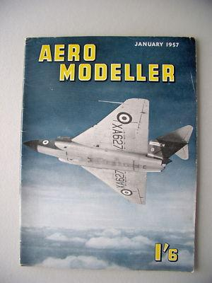 Aero Modeller I'6 Januar 1956 Modellbau model making
