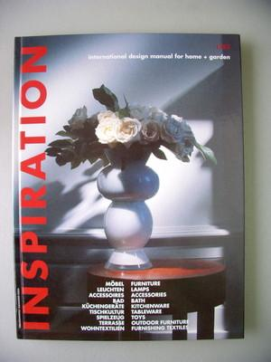 Inspiration international design manual for home + garten 1/93 Möbel Leuchten .
