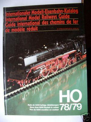 Internationaler Modell-Eisenbahn-Katalog HO 78/79