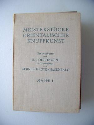 2 Mappe Meisterstücke orientalischer Knüpfkunst Teppich: Öttingen: