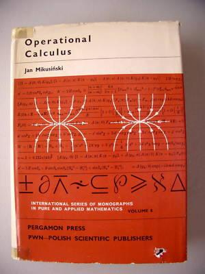 Operational Calculus 1967 Vol. 8
