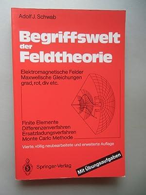 Begriffswelt der Feldtheorie Elektromagnetische Felder Maxwellsche Gleichungen: Adolf J. Schwab:
