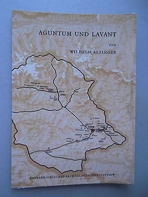 Aguntum Lavant Führer römerzeitlichen Ruinen Osttirols 1974: Wilhelm Alzinger: