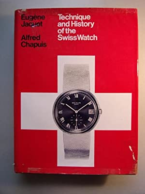 2 Bücher Technique History of the Swiss Watch Schweiz Uhren Uhr am Handgelenk