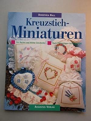 2 Bücher Kreuzstich Kleine Motive nach alten: Nicole Esther Liwon:
