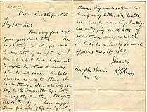 Hayes Plans His Acceptance Letter For the 1876 Republican Presidential Nomination: Rutherford B. ...