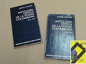 Antología crítica de la poesía colombiana 1874-1974: HOLGUIN, Andrés