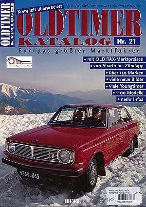 Oldtimer Katalog Nr. 21. Europas größter Marktführer.: ZINK, Günther