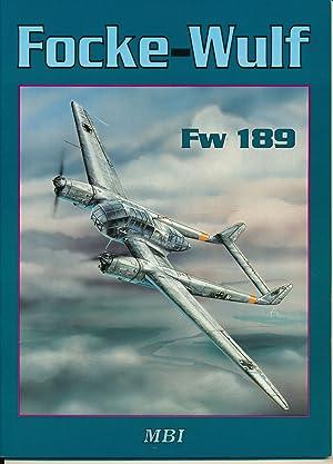 Focke-Wulf Fw 189. Text in czech and: KUCERA, Pavel /