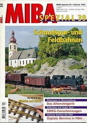 MIBA Spezial Heft 39: Schmalspur- und Feldbahnen.
