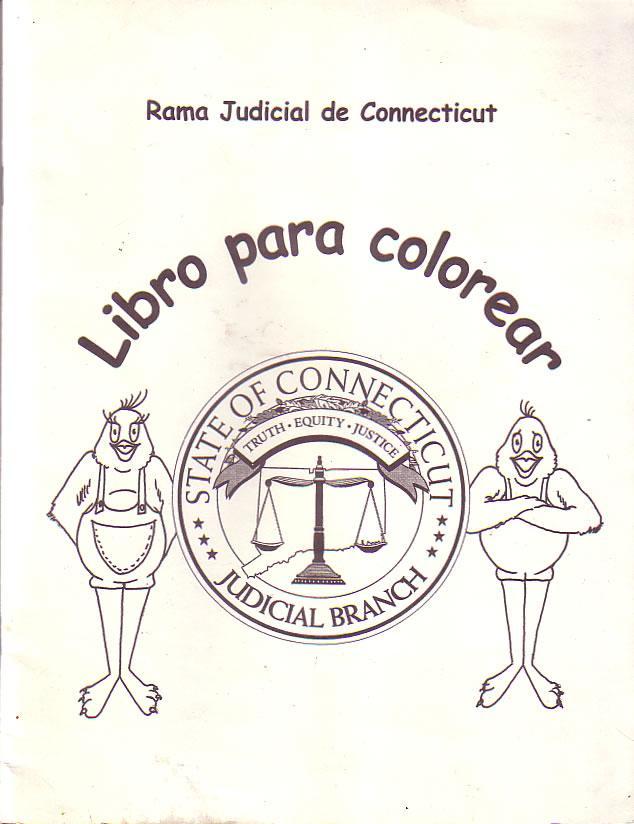 Rama Judicial de Connecticut - Libro para colorear by Apple, Ginny ...