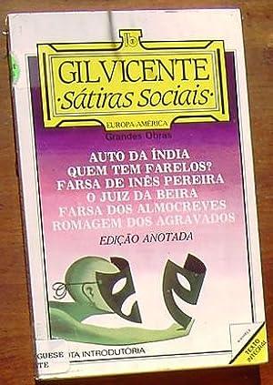 Satiras Sociais: Edicao Anotada: Vicente, Gil