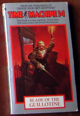 Time Machine: Blade of the Guillotine (#14): Cover, Arthur