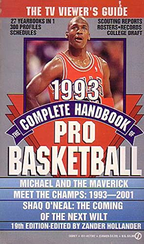 The Complete Handbook of Pro Basketball 1993