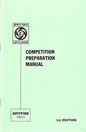 Spitfire 1500 Competition Preparation Manual