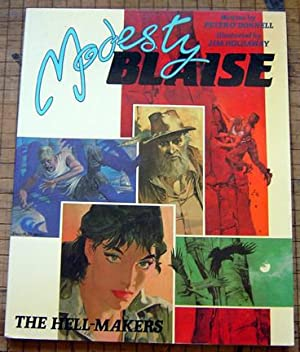 Modesty Blaise: The Hell-Makers (Book Three): O'Donnell, Peter (Jim Holdaway, illus.)