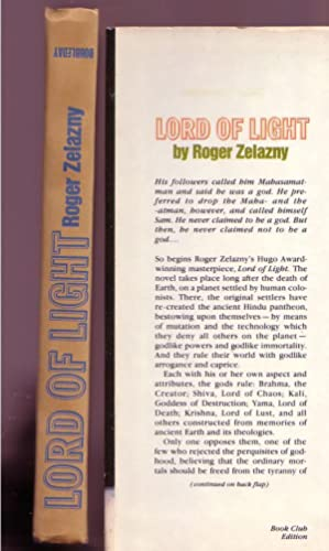 Lord of Light: Zelazny, Roger (Viido Polikarpus, cover art)