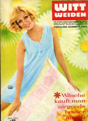 d9b633a784 Wäsche kauft man bei Witt - Katalog: Witt Weiden: