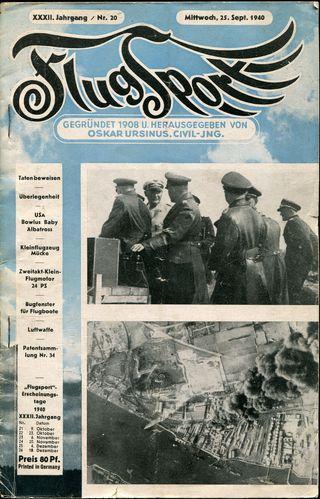 1914 | Zeitschrift Flugsport