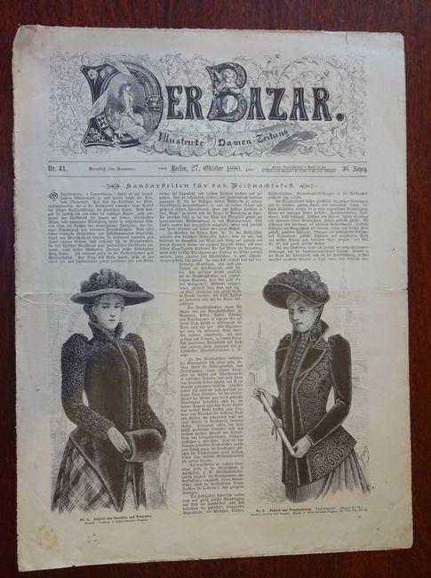 Der Bazar. Illustrirte Damen-Zeitung. Nr. 41 -: Bazar: