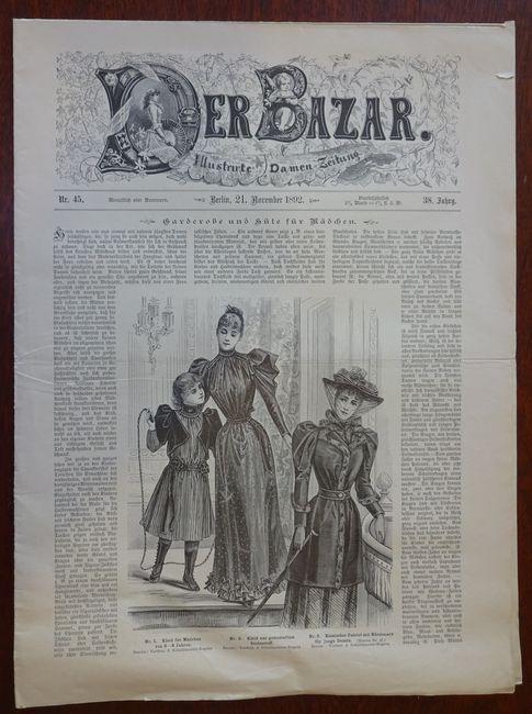 Der Bazar. Illustrirte Damen-Zeitung. Nr. 45 -: Bazar: