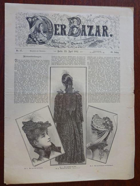 Der Bazar. Illustrirte Damen-Zeitung. Nr. 17 -: Bazar: