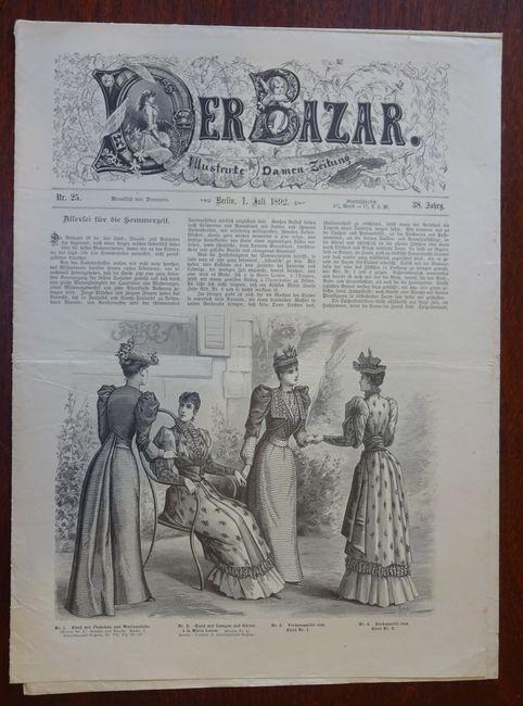Der Bazar. Illustrirte Damen-Zeitung. Nr. 25 -: Bazar: