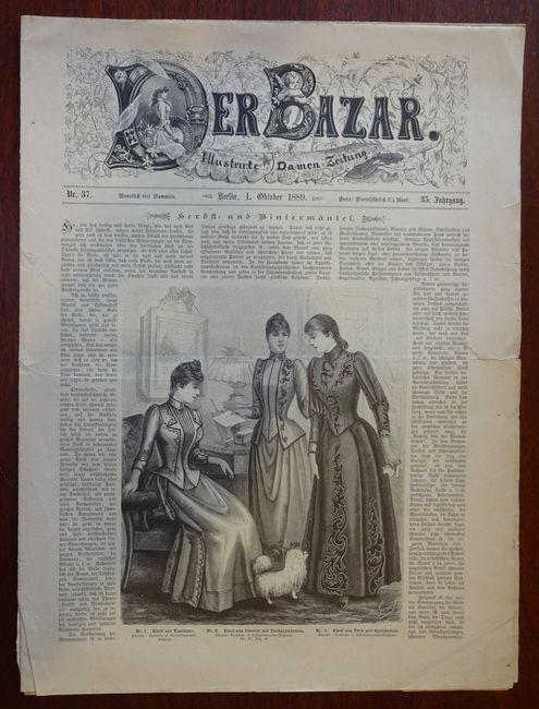Der Bazar. Illustrirte Damen-Zeitung. Nr. 37 -: Bazar: