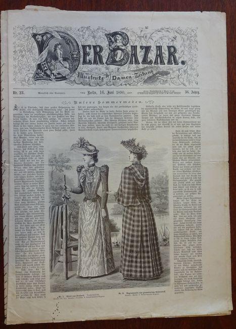 Der Bazar. Illustrirte Damen-Zeitung. Nr. 23 -: Bazar: