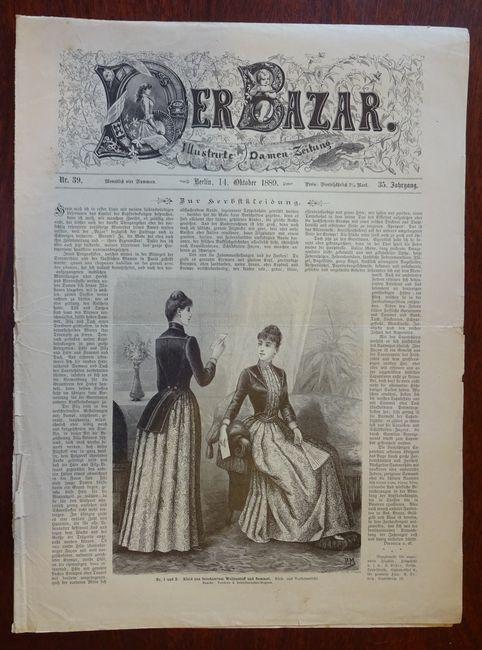 Der Bazar. Illustrirte Damen-Zeitung. Nr. 39 -: Bazar: