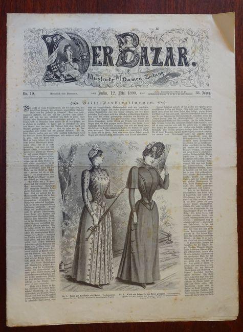 Der Bazar. Illustrirte Damen-Zeitung. Nr. 19 -: Bazar: