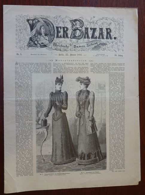Der Bazar. Illustrirte Damen-Zeitung. Nr. 5 -: Bazar: