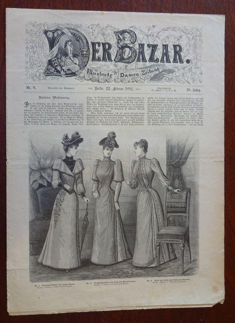 Der Bazar. Illustrirte Damen-Zeitung. Nr. 9 -: Bazar: