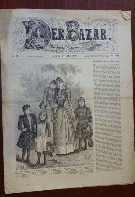 Der Bazar. Illustrirte Damen-Zeitung. Nr. 21 -: Bazar:
