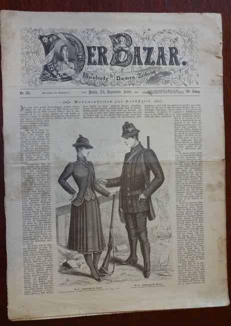 Der Bazar. Illustrirte Damen-Zeitung. Nr. 35 -: Bazar: