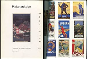 Plakatauktion Touristik 2/92. Guido Tön.