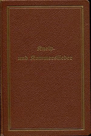 Kneip- und Kommerslieder. Corps Makaria.